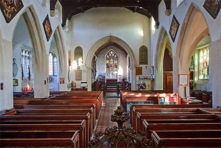 inside the church ML