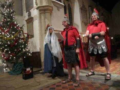 Real Nativity St Mary's